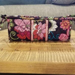 Vera Bradley Lined Make-Up Bag, Mod Floral Pink